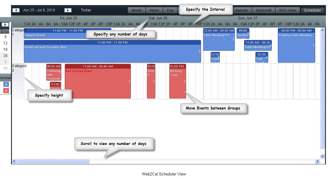 All Extensions - Web2Cal - Ajax events Calendar